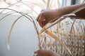 "Ursula Johnson, ""Basket Weaving,"" 2015"
