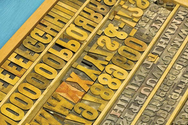 The letterpress at Mother Tongue Publishing.