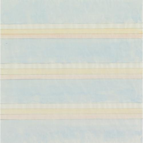 "Agnes Martin, ""Untitled,"" 1977 (©Agnes Martin courtesy of WikiArt)"