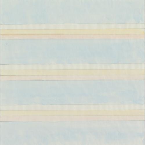 "Agnes Martin, ""Untitled,"" 1977 (©Agnes Martin courtesy of WikiArt)"