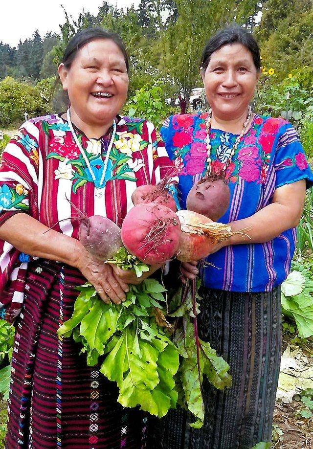 Fabiana Morales and Francisca Sales