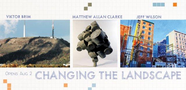 "Viktor Brim, Matthew Allan Clarke, Jeff Wilson, ""Changing the Landscape,"" 2018"