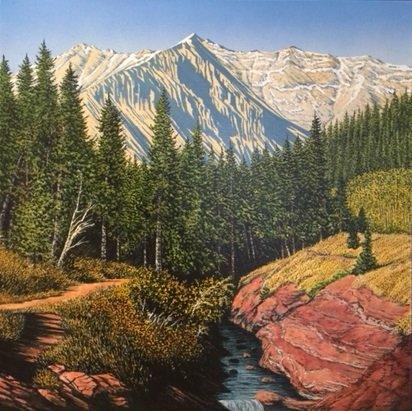 "W.H. (Bill) Webb, ""Red Rock Canyon,"" no date"
