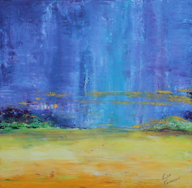 "Ruth Kamenev, ""Fields of Gold,"" 2018"