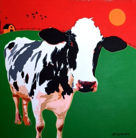 """Jerry Rubin, """"When The Cow Came Back,"""" no date"""