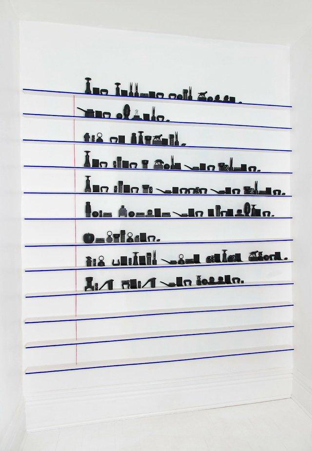 "Clara Couzino, ""Objectifier l'écriture,"" 2018"
