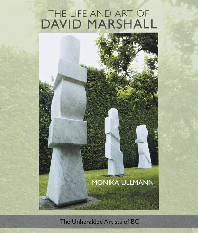 """The Life and Art of David Marshall:"" book cover from the ""Unheralded Artists of B.C."" series."