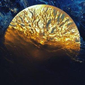 """Josh Winkler & Lindsay Dobbin, """"Intertidal Cymbal,"""" 2018"""
