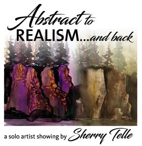 "Sherry Telle, ""Abstract to Realism...and back,"" 2018"