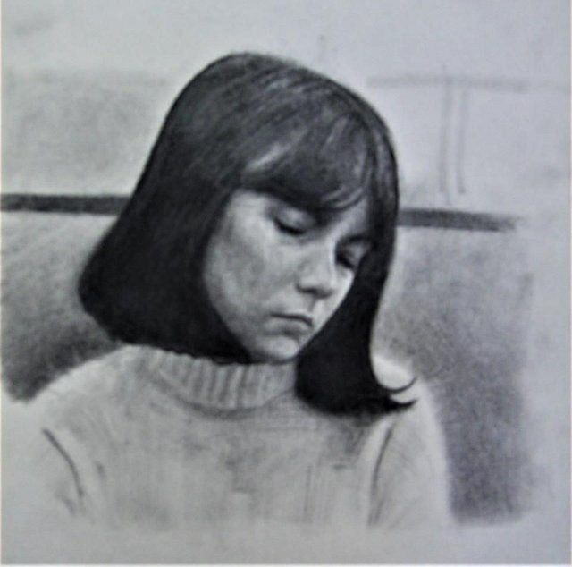 """Gavin Peterson, """"Portrait,"""" nd"""