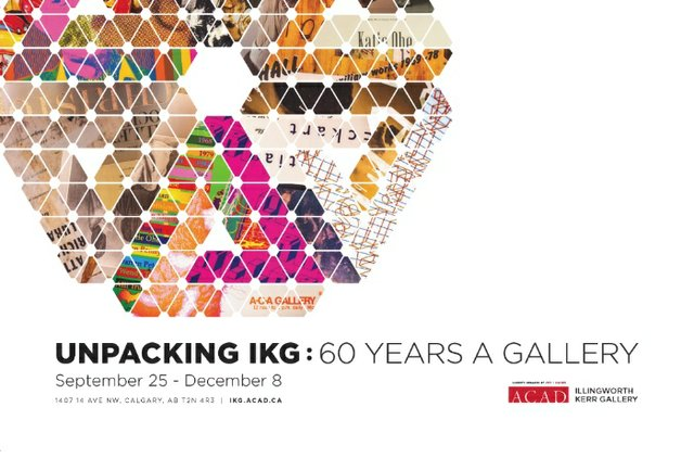 Unpacking IKG: 60 Years a Gallery, 2018