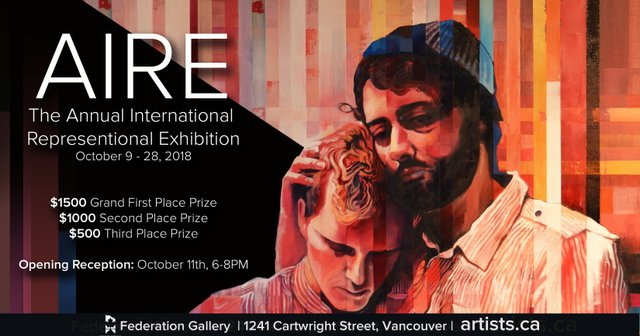 "Federation Gallery, ""The Annual International Representational Exhibition,"" 2018"