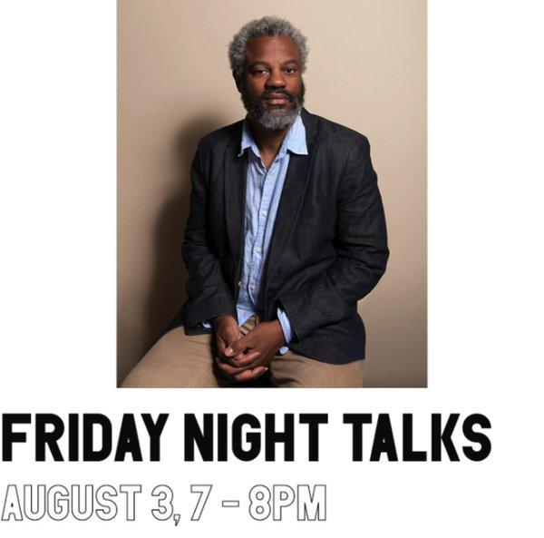 "Hamza Walker at The Polygon Gallery, ""Friday Night Talks,"" 2018"