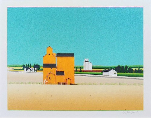 "David Thauberger, ""Mid Summer,"" nd"