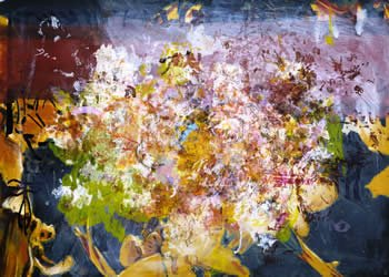 """Jeffrey Spalding, """"Ghosts and Angels (Riopelle Relic),"""" 2012"""