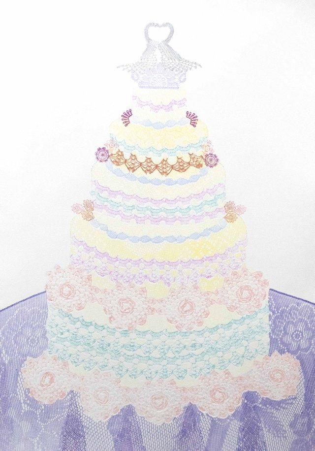 "Wendy Tokaryk, ""Cake Too,"" 2018"