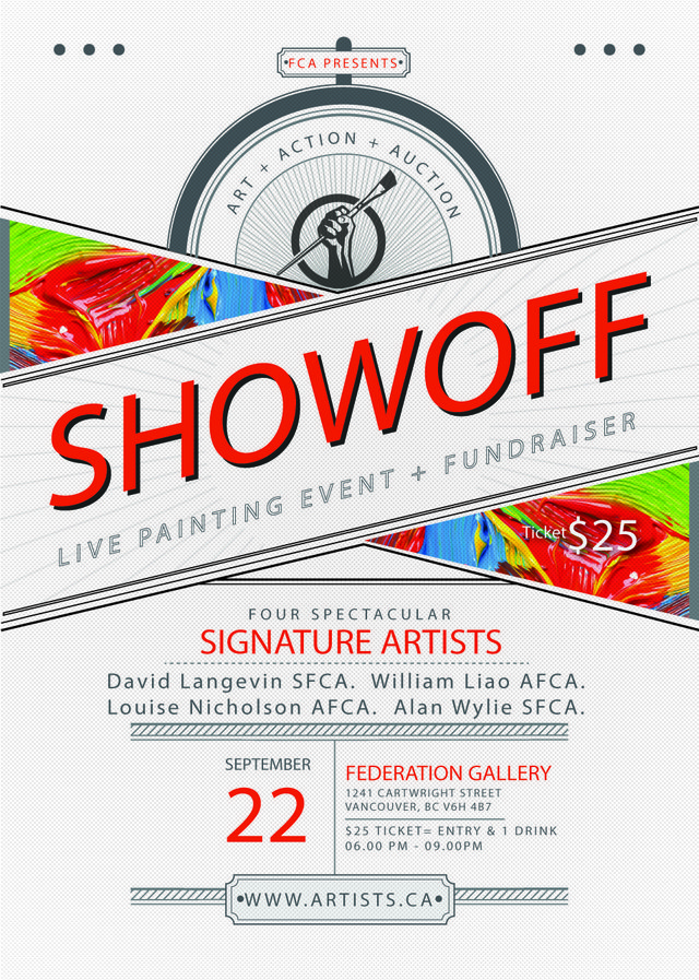 "Federation of Canadian Artists, ""ShowOff,"" 2018"
