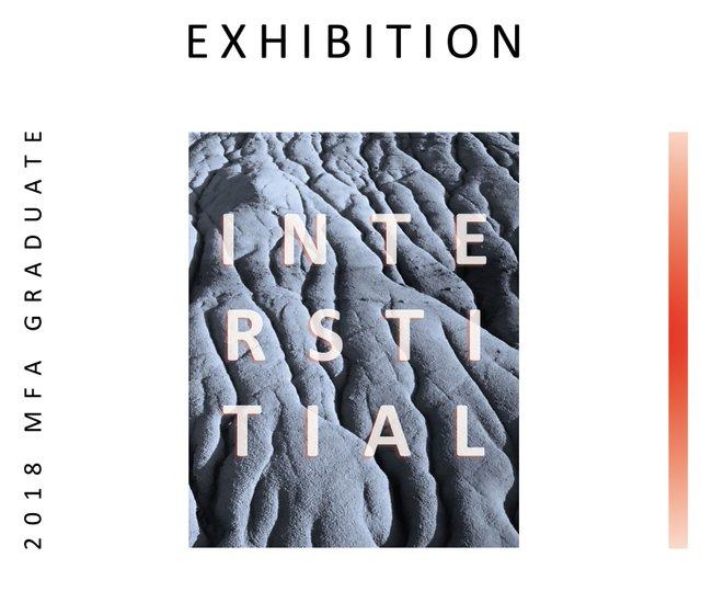 INTERSTITIAL, 2018 U of C MFA Graduate Exhibition