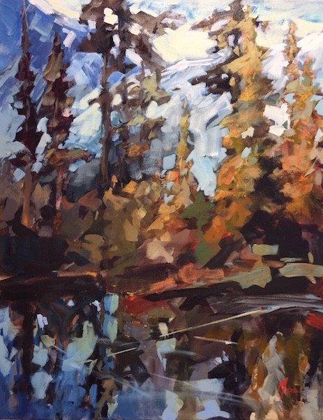 "Andrea Moore, ""Callahan Lake,"" nd"
