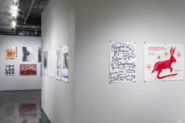 "Natasha Pestich, ""Natasha Pestich Presents: A Survey of Jan Xylander Exhibition Posters,"" 2018"