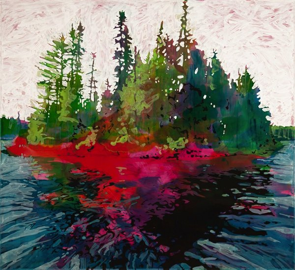 "Steve Driscoll, ""Bear Lake Navigation 2,"" 2018"