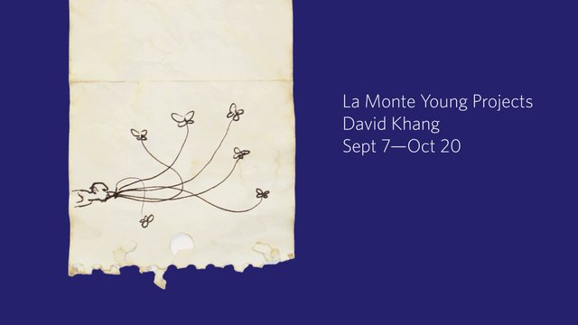"David Khang, ""La Monte Young Projects,"" 2018"