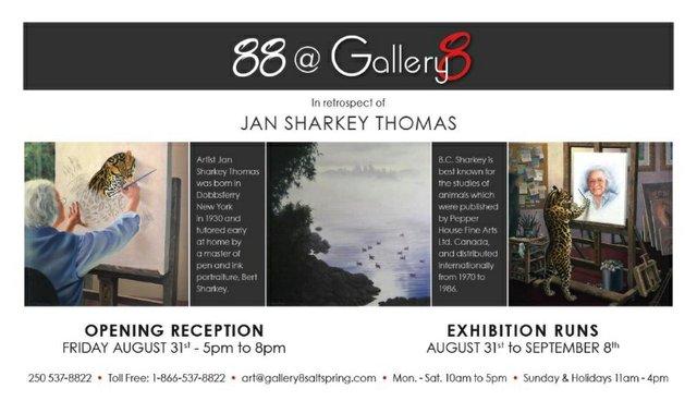 "Jan Sharkey Thomas, ""In Retrospect,"" 2018"