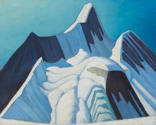 """Rocky Mountain Sketch CXXI (Mount Robson)"""