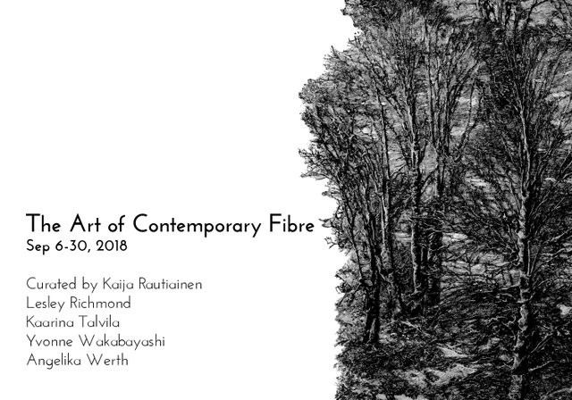 "Circle Craft Gallery, ""The Art of Contemporary Fibre,"" 2018"