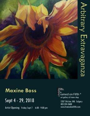 """Maxine Boss, """"Arbitrary Extravaganza,"""" 2018"""