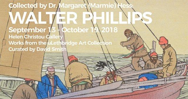 "Walter J. Phillips, ""York Boat on Lake Winnipeg,"" 1930"