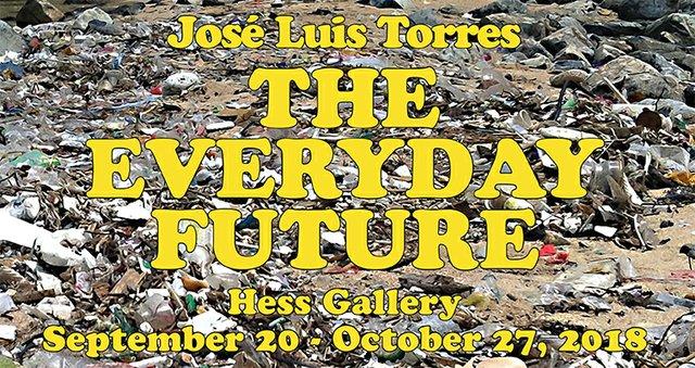 "José Luis Torres, ""The Everyday Future,"" 2018"
