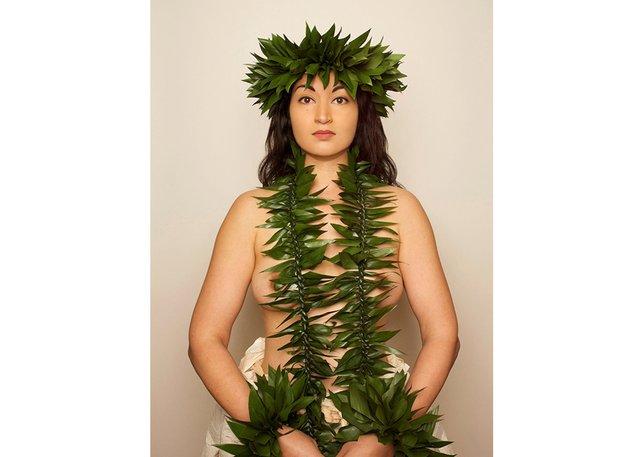 """Sheinina Raj, """"Hawaiian Woman,"""" 2016"""
