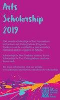 "Alberta Society of Artists, ""Arts Scholarship 2019,"" 2018"
