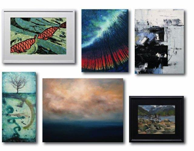 """CityScape Community Art Space, """"Art Rental Show,"""" 2018"""