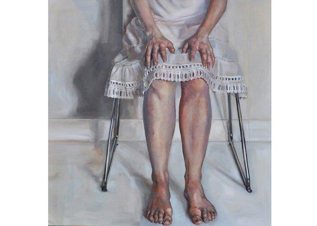 "Kirsty Templeton Davidge, ""Crochet Hem,"" 2018"