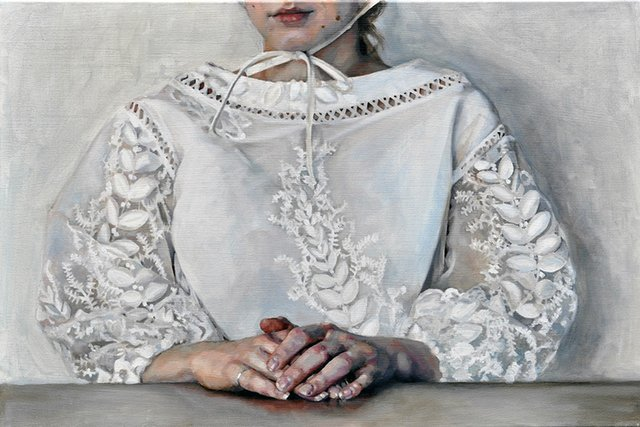 """Kirsty Templeton Davidge, """"Embroidered Blouse,"""" 2018"""