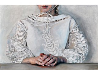 "Kirsty Templeton Davidge, ""Embroidered Blouse,"" 2018"