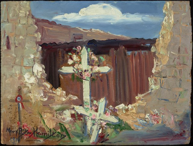 "Mary Riter Hamilton, ""Among the Ruins, Arras,"" 1919"
