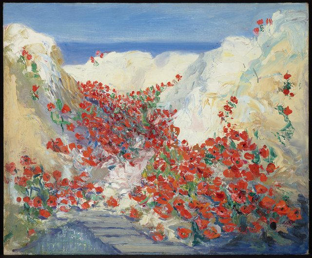 """Mary Riter Hamilton, """"Trenches on the Somme,"""" 1919"""