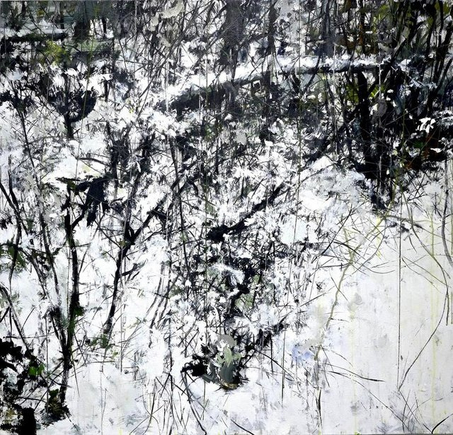 "Gordon Smith, ""Snow #2,"" 2018"