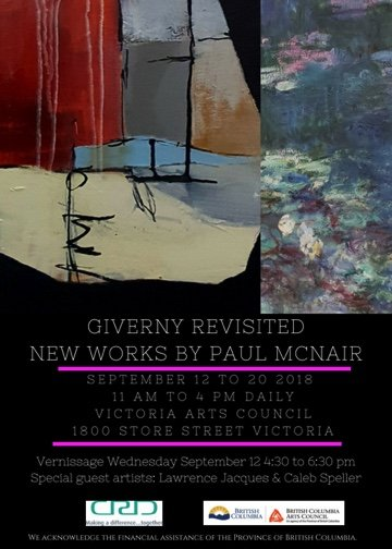 "Paul McNair, ""Giverny Revisited: New Works,"" 2018"
