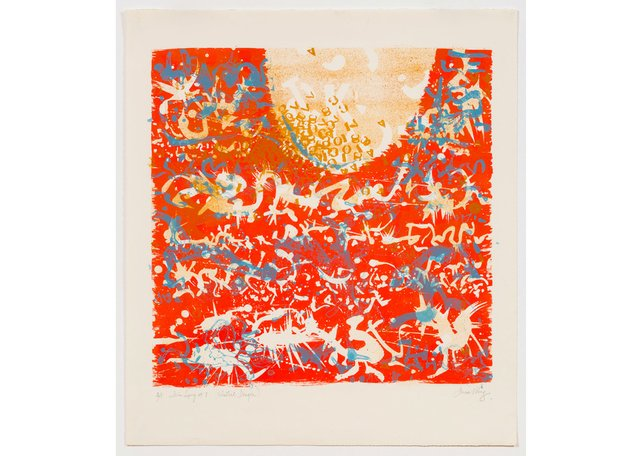 "Anna Wong, ""Tein Long #7 (Celestial Dragon),"" 1967"