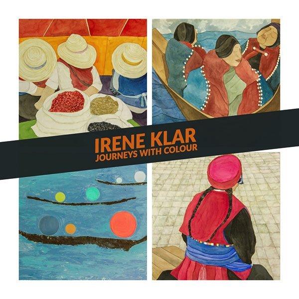 "Irene Klar, ""Journeys with Colour,"" 2018"