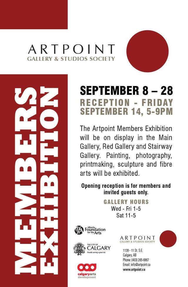 "Artpoint, ""Members Exhibition,"" 2018"