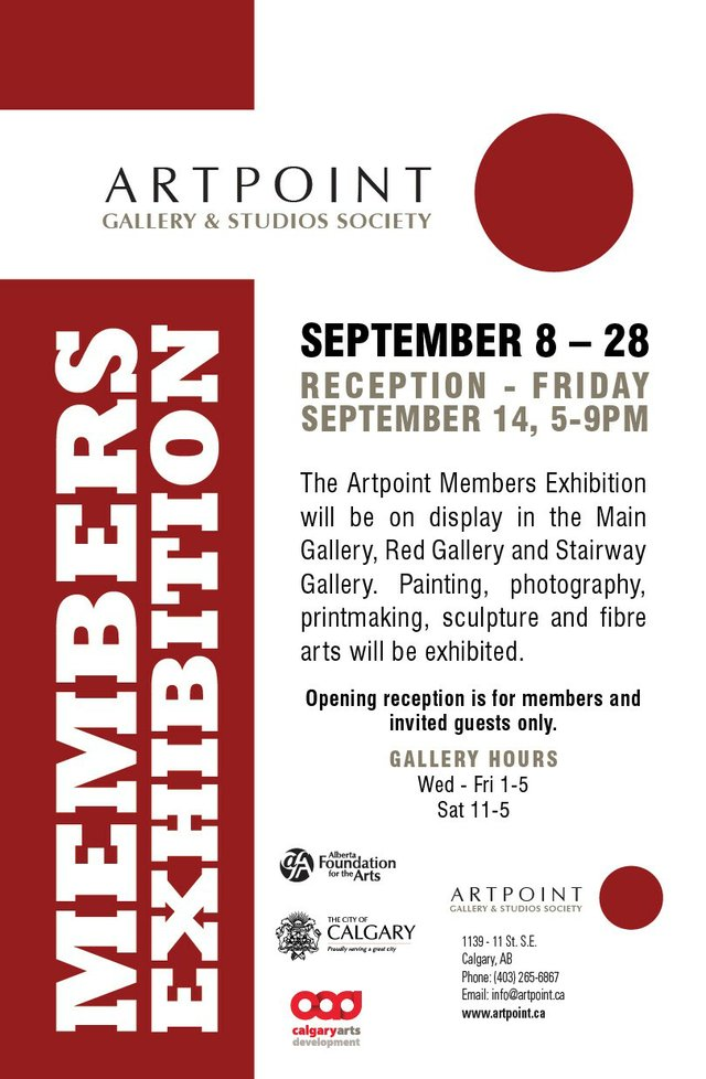 "Artpoint, ""Members Exhibition,"" 2018"