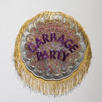 "Arianna Richardson, ""Garbage Party,"" 2018"