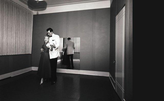 """Dick Oulton, """"The Park Lane Dance School,"""" 1955"""