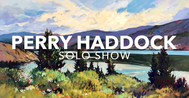 "Perry Haddock, ""Solo Show,"" 2018"
