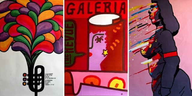 """Harcourt House Gallery, """"Art of the Street: The Masters of Polish School of Poster Art,"""" 2018"""